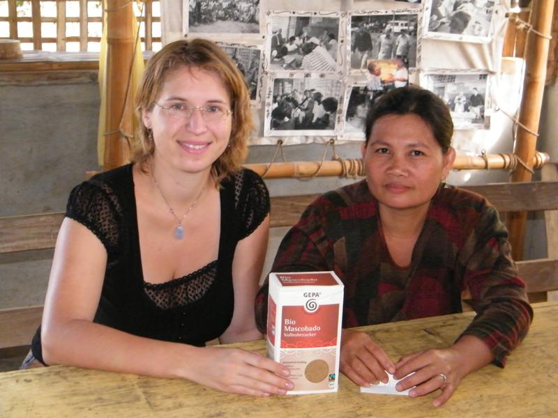 ATC cooperative fair trade sugar, Ms Imelda
