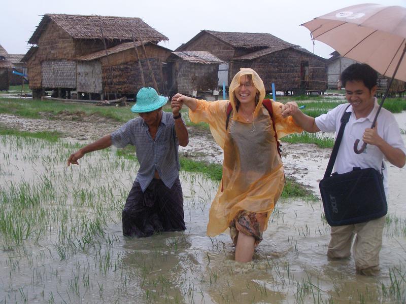 Myanmar project area